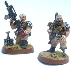 How would you convert Cadians or Catachans to Tallarn - Forum - DakkaDakka | Nuke it from orbit. It's the only way to be sure.