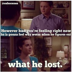 Switched At Birth. Bay & Emmett <3 season 2 finale.