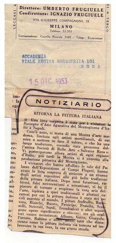 Ritaglio Storico del 1953 - Albano