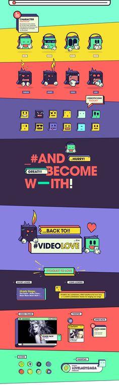 """Finalmente debutamos con nuestros amigos de MTV, quienes nos presentaron este divertido proyecto, para el cual creamos 2 propuestas basadas en la comunicación a través de las redes sociales. """"VIDEO LOVE"""" es un show que busca la interacción entre la panta…"""