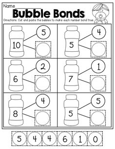 16 Number Worksheets for Kindergarten Number Bonds Worksheets The youngsters can enjoy Number Worksheets, Math Worksheets, Alphabet Worksheets. Number Bonds Worksheets, Number Worksheets Kindergarten, Preschool Math, Math Classroom, Teaching Math, Number Bonds Activities, Math Worksheets For Kindergarten, Teaching Numbers, Addition Worksheets