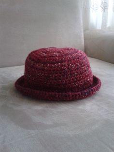 Şapka, el örgüsü, tığ işi, bere