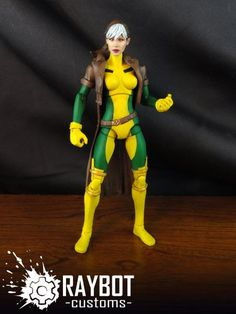 Rogue (Marvel Legends) Custom Action Figure by raybot