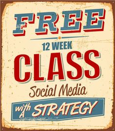 How do you find your inner social medianess? You need to be honest with yourself and be open to new ideas. Sign up for our FREE 12-week online Social Media with a Strategy class and together well learn to uncover and embrace your inner social medianess for 2013!
