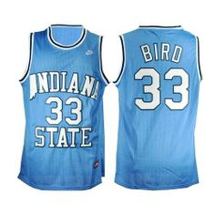 d124157f3 Find NCAA Indiana State Sycamores Larry Bird Blue Hardwood Legends  Basketball Jersey Super Deals online or in Footseek. Shop Top Brands and  the latest ...
