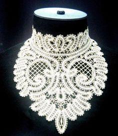 Russian lace accessory. #beauty #fashion #lace #Russian