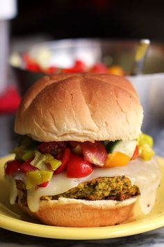 falafel burgers with