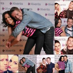 Lana Parrilla and Sean Maguire at the Fairy Tale Xivents #OutlawQueen ahhhh i looove them! @adelineyates