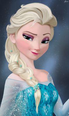 Elsa - Frozen by Herostrain on deviantART