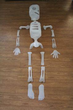 The Weisse Guys: milk carton skeleton