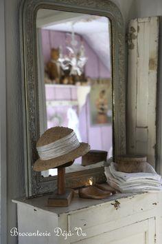 Mirror ▇  #Vintage #Home #Decor  via - Christina Khandan  on IrvineHomeBlog - Irvine, California ༺ ℭƘ ༻