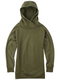 <h2>Soft warmth packed into a relaxed everyday hoodie with batwing sleeves.</h2><p>The cotton blend women's Burton Hixon Hoodie is designed for lived-in comfort that's almost as cushy as your favorite pair of pajamas, but far more socially acceptable to wear in public. Its oversized collar and batwing sleeves offer free-swinging freedom wherever you fly, earning a coveted spot in the closet when not accompanying you about town.</p><h3>Features:</h3><ul><li>60% Cotton, 40% Polyester Brushed…