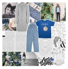 """""""if you hate me then why do you care?"""" by acquiescence ❤ liked on Polyvore featuring Acne Studios, Dickies and Jeffrey Campbell"""