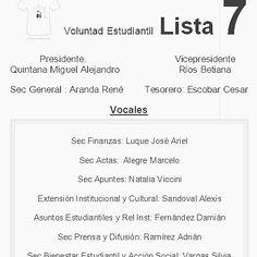 #YA elecciones #CentroDeEstudiantes #ifd #BellaVistaCorrientes #Lista7 #imagenprimeroya Veni a votar