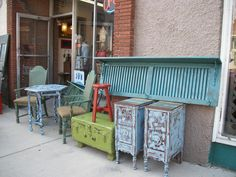 SHABBY CHIC FURNITURE AT J TRASH TO TREASURES, 321 E. BROADWAY,ALTON,IL 62002