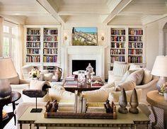 cozy living room -  Alexa Hampton