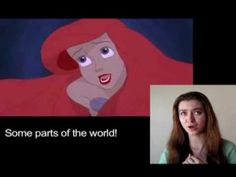 """Google Translate Sings: """"Part of Your World"""" from The Little Mermaid. She put a great song through Google translate and then sings seriously. THIS IS AWESOME"""