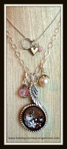 Origami Owl Lockets, and simple necklaces, with cute dangle add ons, and charms. http://mollyolson.origamiowl.com/