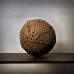 Vintage Leather Basketball by Robert Moran., via Flickr
