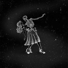 Dark Fantasy, Fantasy Art, The Lovers Tarot Card, Death Tattoo, Death Art, Forearm Sleeve, Beautiful Dark Art, Halloween Countdown, Danse Macabre