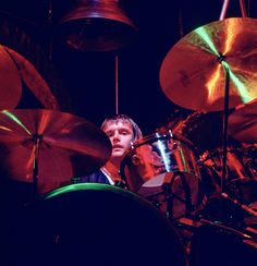 Carl Palmer (red-hot sounds of molten iron, a blacksmith on the drums…) Atomic Rooster, Greg Lake, Emerson Lake & Palmer, Todd Rundgren, Progressive Rock, Drummers, My Forever, Joy And Happiness, Moon Child