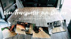 Eine Artikelreihe über den Umbau eines VW T5 Transporters zum Campervan: Einbau von Boden und Untergrund Schritt für Schritt erklärt.