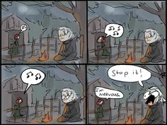 During the blood and wine game screen The Witcher 3, doodles 78 by Ayej on DeviantArt