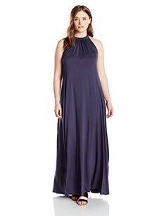 Calvin klein pleated maxi dress