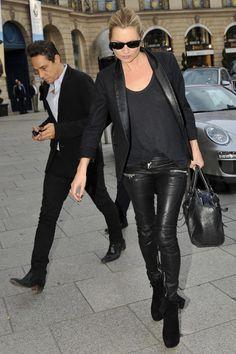 Golestaneh - Street Style: inspiration: Kate Moss