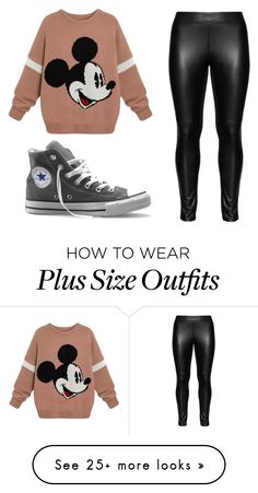 """""""Sem título #52"""" by lauls on Polyvore featuring Studio and Converse"""