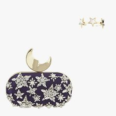 Met Gala–bound or just looking like you are? This season the glamorous evening accessories you crave can be both stunning and stunningly well priced. Met Gala Red Carpet, Big Night, Givenchy, Coin Purse, Jewelry Accessories, Moon, Crystals, Stars, Stuff To Buy