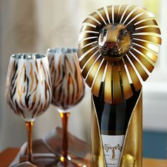 Lion Bottle Holder