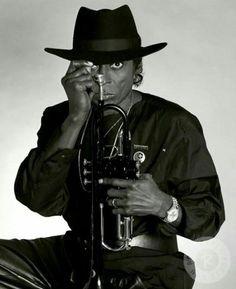Miles Davis in the 1980s