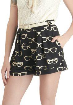 Pantalón corto con gafas #PrimerasVecesbyCyzone