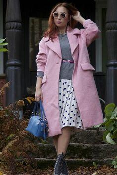 Pink coat | Women's Look | ASOS Fashion Finder