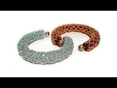 Tutorial: beads style №2 for pandora bracelet / Жгут из бисера для пандоры