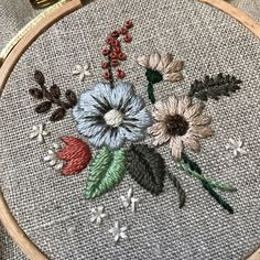 Wonderful Ribbon Embroidery Flowers by Hand Ideas. Enchanting Ribbon Embroidery Flowers by Hand Ideas. Ribbon Embroidery Tutorial, Hand Embroidery Stitches, Silk Ribbon Embroidery, Hand Embroidery Designs, Embroidery Techniques, Floral Embroidery, Cross Stitch Embroidery, Embroidery Patterns, Machine Embroidery