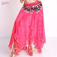 Cheap Fancy India Belly skirt Best Chiffon Belly Stage Wear