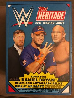 Topps 2017 WWE Heritage: A Bleeding Cool Box Break