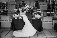 Stunning lace gown with gorgeous train - Houston wedding photography - MD Turner Photography
