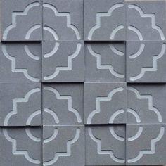 Brogliato Revestimentos - Coleções - Print - Tile Gray - 30x30cm.