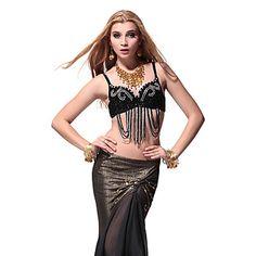Dancewear Unique Sequins Belly Dance Tops For Ladies More Colors