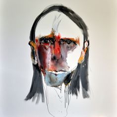 Study for Portrait of Reg – 1 by Anthony Bennett at Gallery One