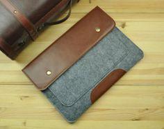 Felt Macbook Sleeve,Felt Macbook Air Case ,Felt Macbook Pro Case,Leather Macbook Case,Macbook Pro 13 Retina Case,Macbook Air 13 Case-F69
