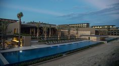 The new beachfront JW Marriott Los Cabos in San Jose del Cabo, Mexico