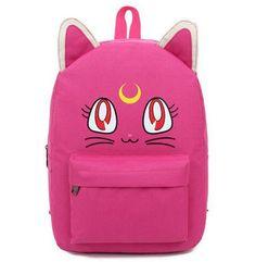 Sailor Moon Kawaii Luna School Backpack 6 Colors