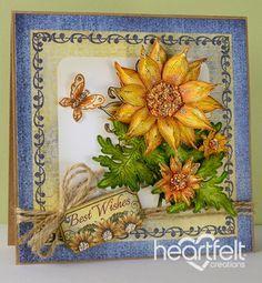 Heartfelt Creations | Bursting Sunflower Best Wishes