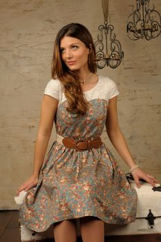 So totally chic, comforable, and afforable! Love this modern vintage look for a summer dress!!!  www.sierrabrooke.com