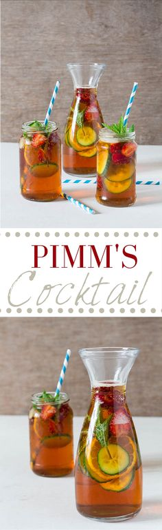 Pimms Cocktail Recipe | Recipes From A Pantry