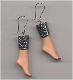 Barbie Doll Parts Made Into Jewelry 5 ... what the heck???!!!